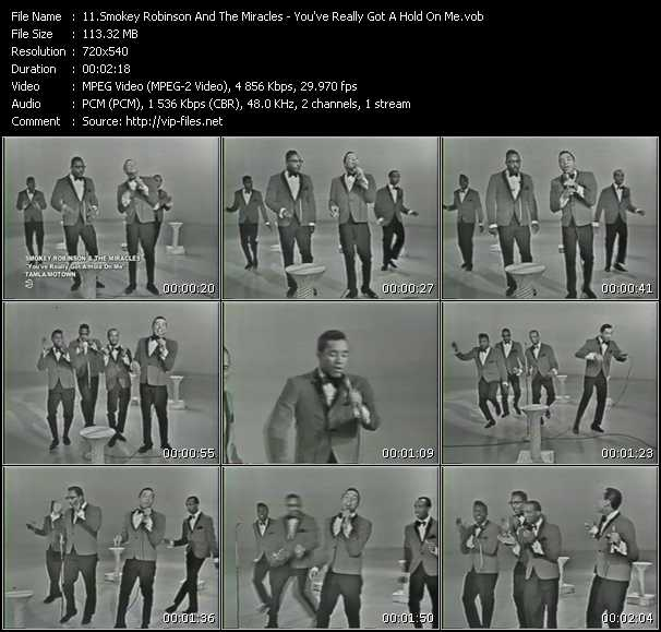 Smokey Robinson And The Miracles - You've Really Got A Hold On Me
