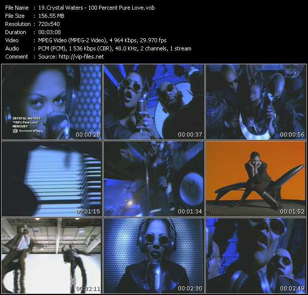 Crystal Waters - 100 Percent Pure Love