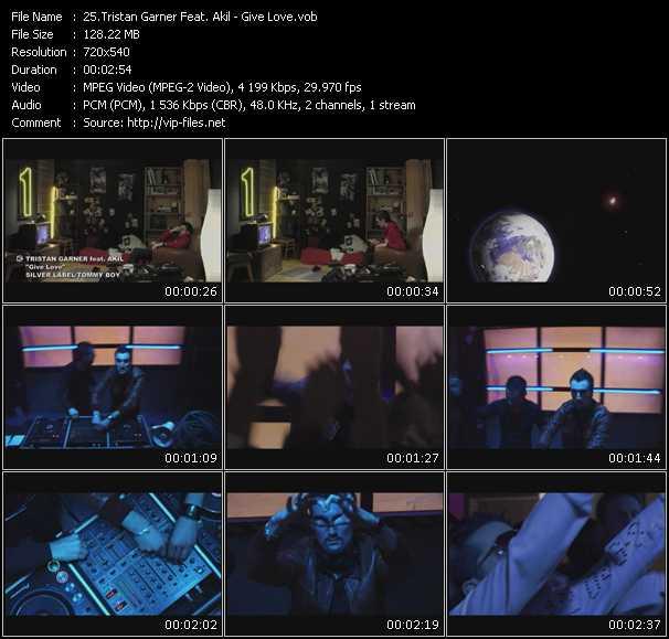 Tristan Garner Feat. Akil - Give Love