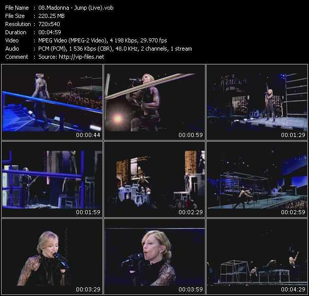 Madonna - Jump (Live)