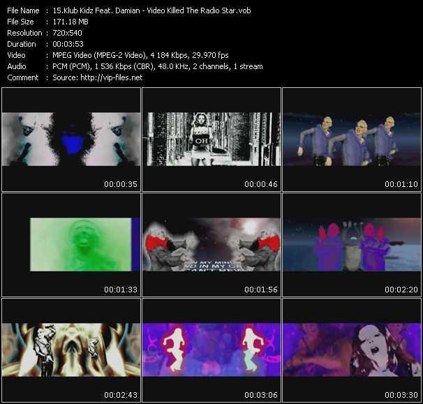 Klub Kidz Feat. Damian - Video Killed The Radio Star