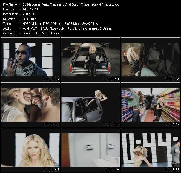 Madonna Feat. Timbaland And Justin Timberlake - 4 Minutes