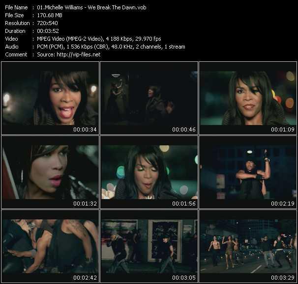 Michelle Williams - We Break The Dawn