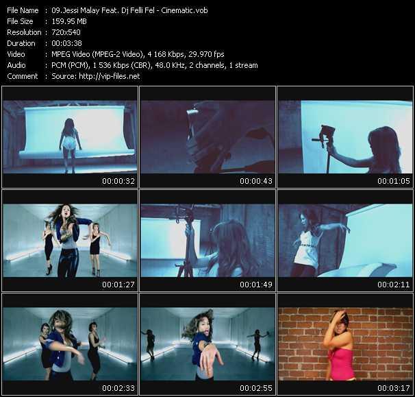 Jessi Malay Feat. Dj Felli Fel - Cinematic