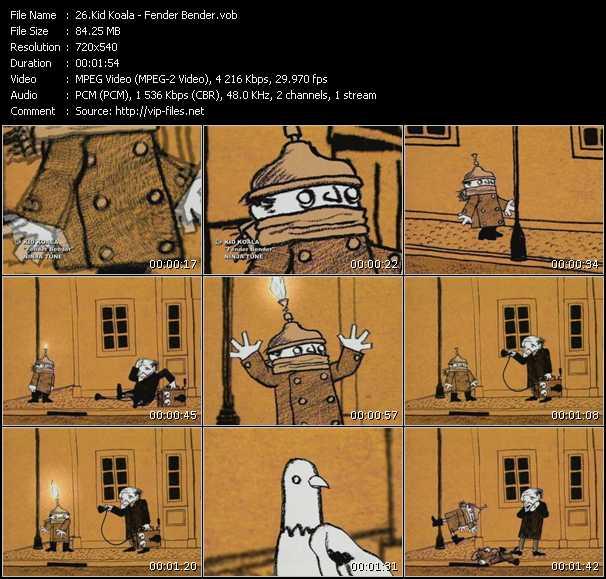 Kid Koala - Fender Bender