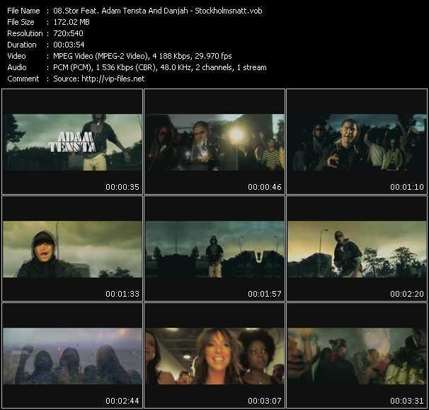 Stor Feat. Adam Tensta And Danjah - Stockholmsnatt