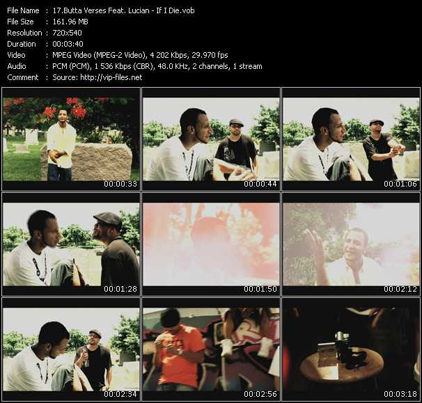 Butta Verses Feat. Lucian - If I Die