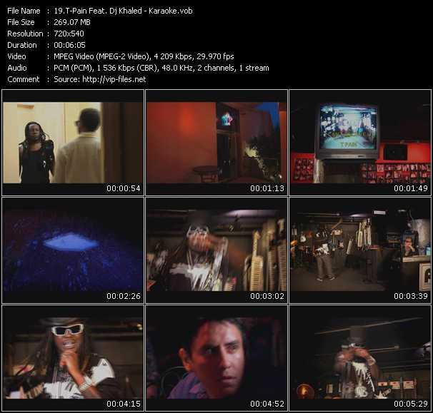 T-Pain Feat. Dj Khaled - Karaoke