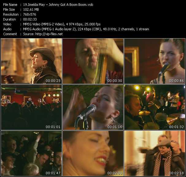 Imelda May - Johnny Got A Boom Boom