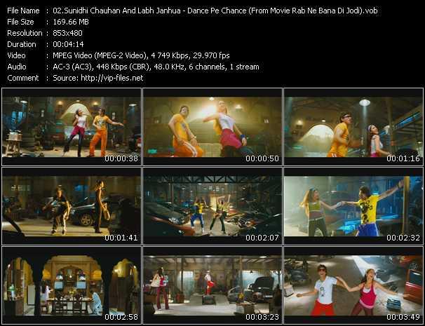 Sunidhi Chauhan And Labh Janhua - Dance Pe Chance (From Movie Rab Ne Bana Di Jodi)