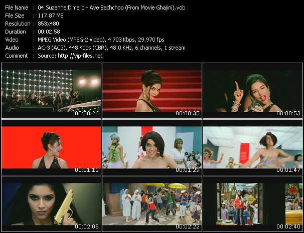 Suzanne D'mello - Aye Bachchoo (From Movie Ghajini)