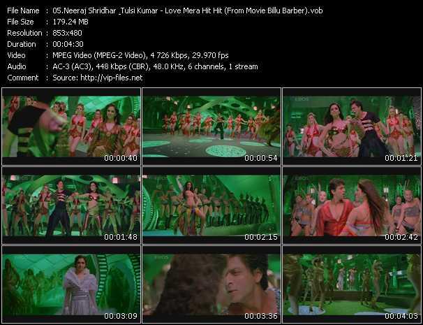 Neeraj Shridhar And Tulsi Kumar - Love Mera Hit Hit (From Movie Billu Barber)