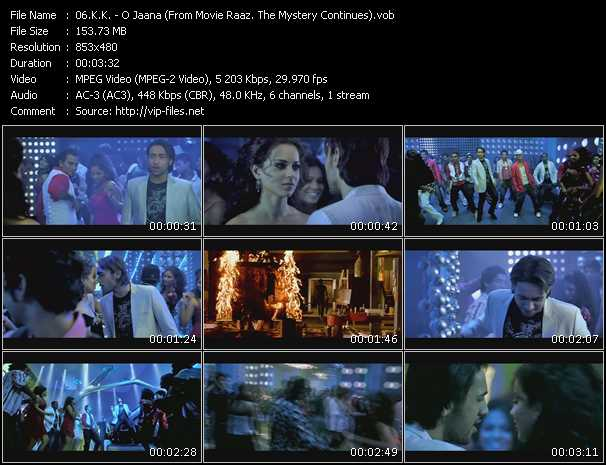 K.K. - O Jaana (From Movie Raaz. The Mystery Continues)
