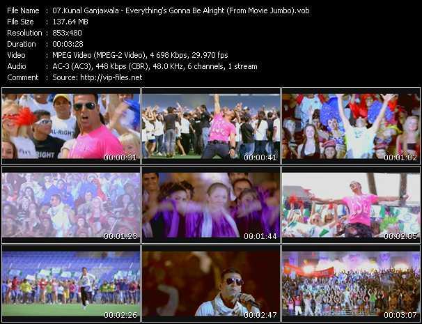 Kunal Ganjawala - Everything's Gonna Be Alright (From Movie Jumbo)