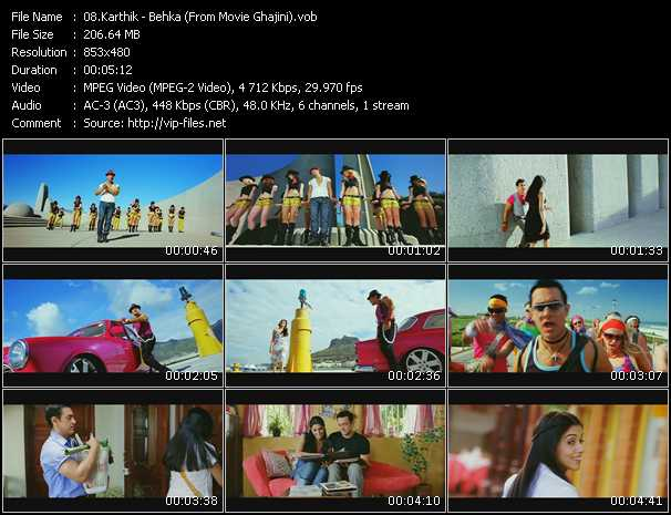Karthik - Behka (From Movie Ghajini)