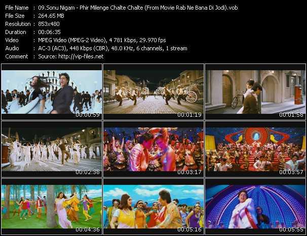 Sonu Nigam - Phir Milenge Chalte Chalte (From Movie Rab Ne Bana Di Jodi)