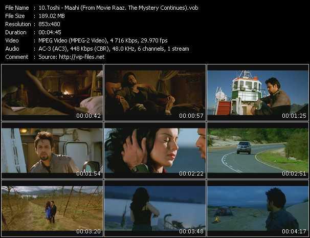 Toshi - Maahi (From Movie Raaz. The Mystery Continues)