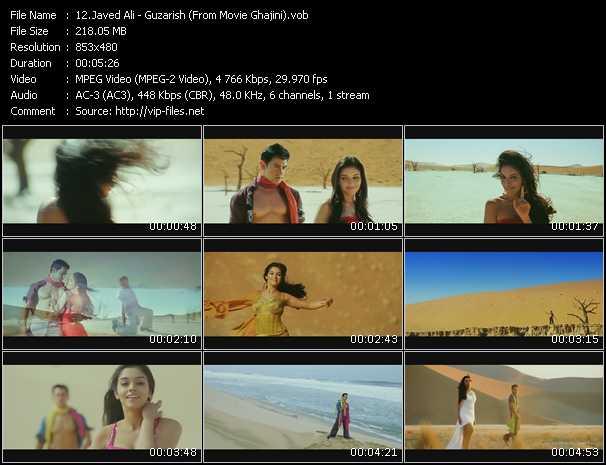 Javed Ali - Guzarish (From Movie Ghajini)