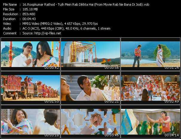 Roopkumar Rathod - Tujh Mein Rab Dikhta Hai (From Movie Rab Ne Bana Di Jodi)
