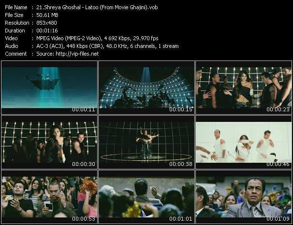 Shreya Ghoshal - Latoo (From Movie Ghajini)