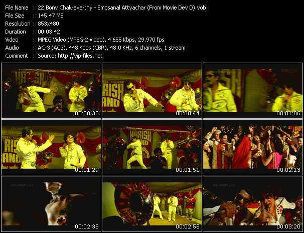Bony Chakravarthy - Emosanal Attyachar (From Movie Dev D)
