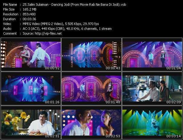 Salim Sulaiman - Dancing Jodi (From Movie Rab Ne Bana Di Jodi)