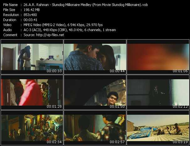 A.R. Rahman - Slumdog Millionaire Medley (From Movie Slumdog Millionaire)