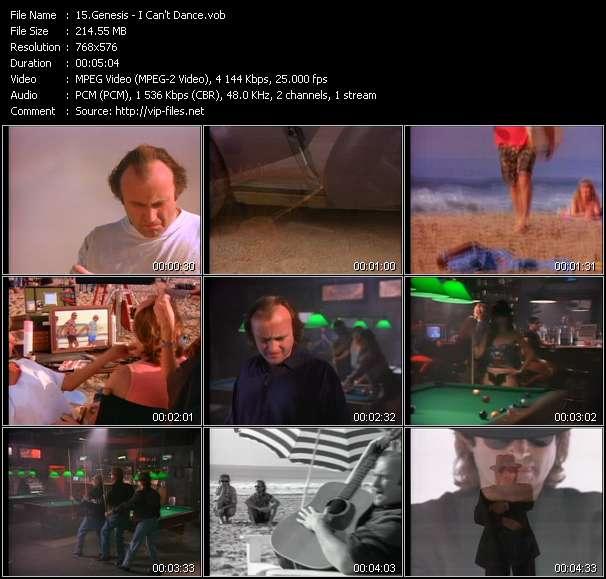 Genesis - I Can't Dance