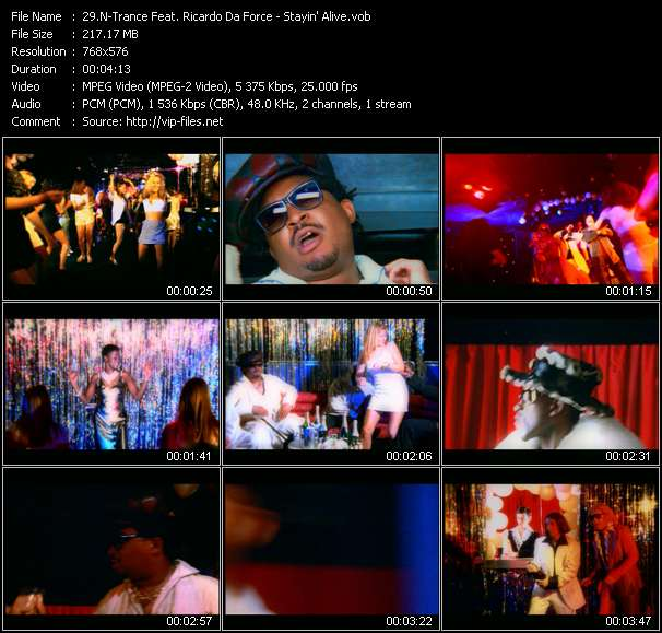 N-Trance Feat. Ricardo Da Force - Stayin' Alive