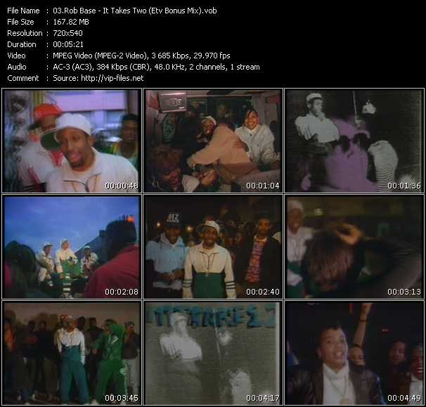 Rob Base - It Takes Two (ETV Bonus Mix)