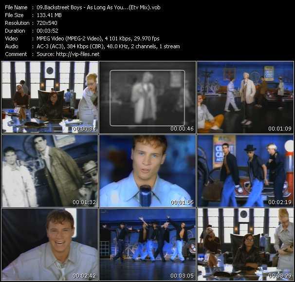 Backstreet Boys - As Long As You Love Me (ETV Bonus Mix)