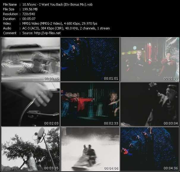 N'Sync - I Want You Back (ETV Bonus Mix)
