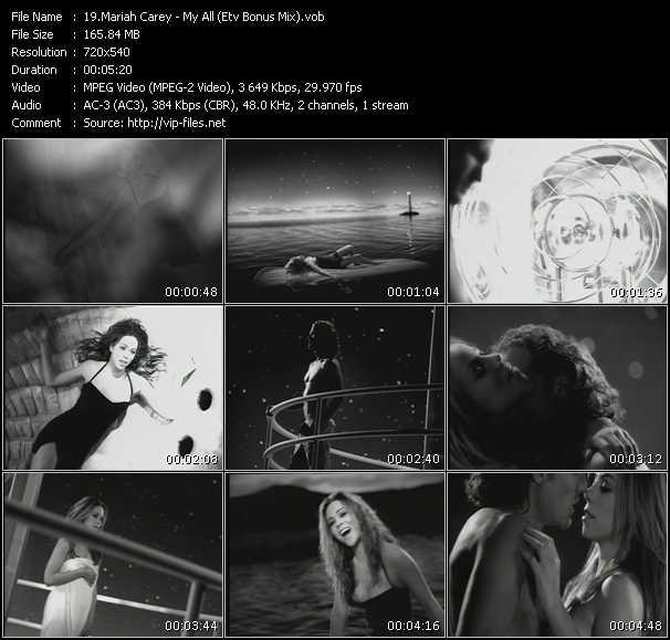 Mariah Carey - My All (ETV Bonus Mix)