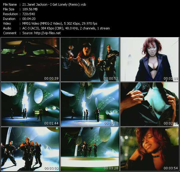 Janet Jackson - I Get Lonely (Remix)