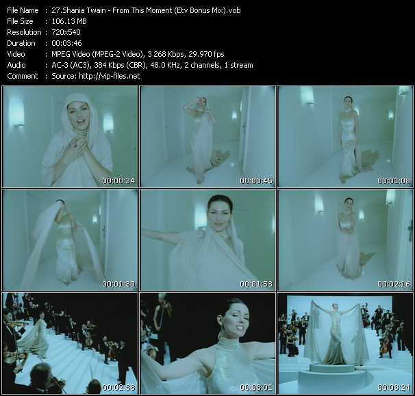 Shania Twain - From This Moment (ETV Bonus Mix)