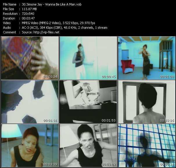 Simone Jay - Wanna Be Like A Man