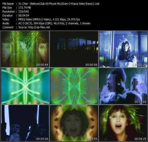 Cher - Believe (Club 69 Phunk Mix) (Dan-O-Rama Video Remix)