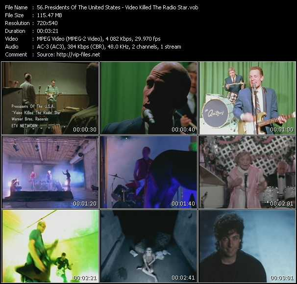 Presidents Of The United States Of America - Video Killed The Radio Star