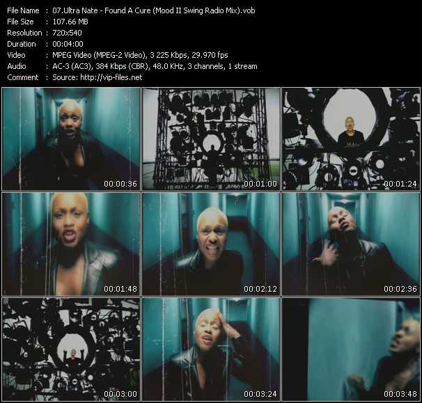 Ultra Nate - Found A Cure (Mood II Swing Radio Mix)