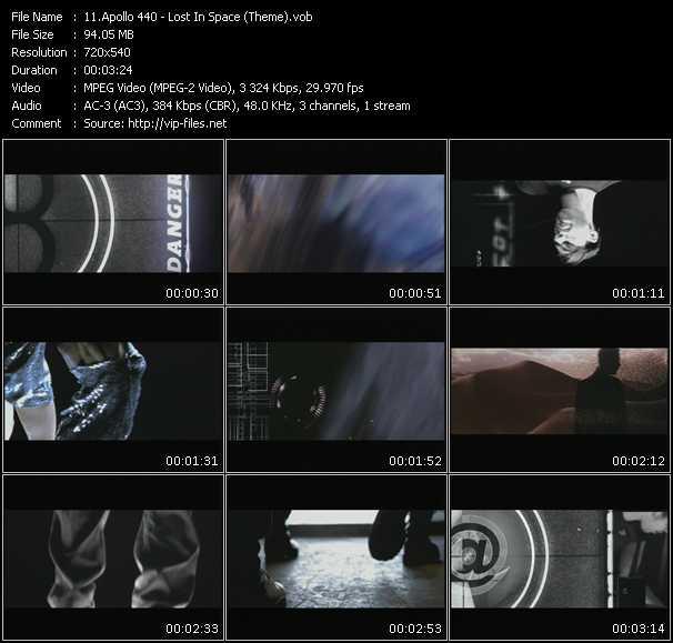 Apollo 440 (Apollo Four Forty) - Lost In Space (Theme)