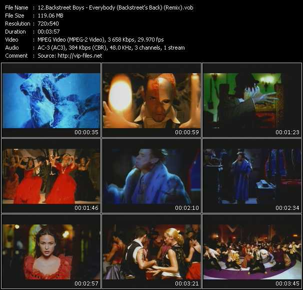 Backstreet Boys - Everybody (Backstreet's Back) (Remix)