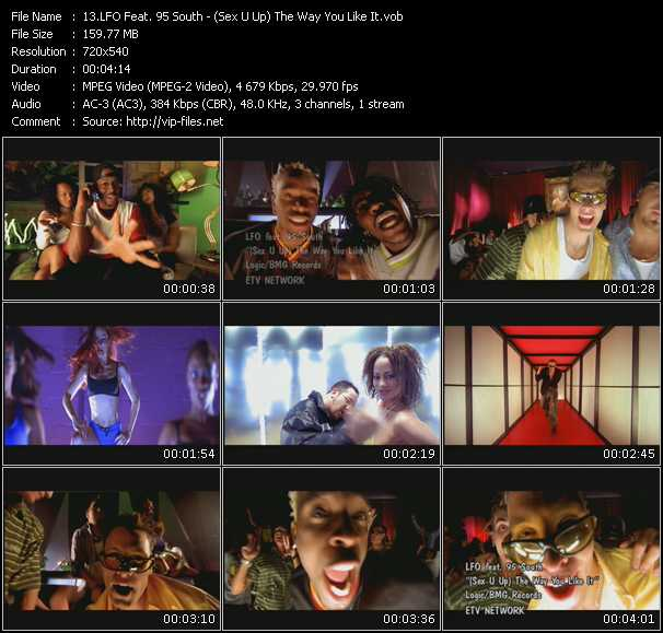 Lfo (Lyte Funkie Ones) Feat. 95 South - (Sex U Up) The Way You Like It