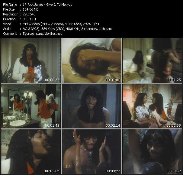 Rick James - Give It To Me