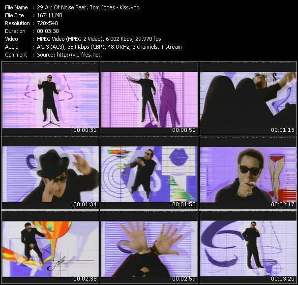 Art Of Noise Feat. Tom Jones - Kiss