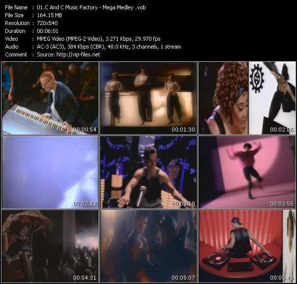 C And C Music Factory - Mega Medley