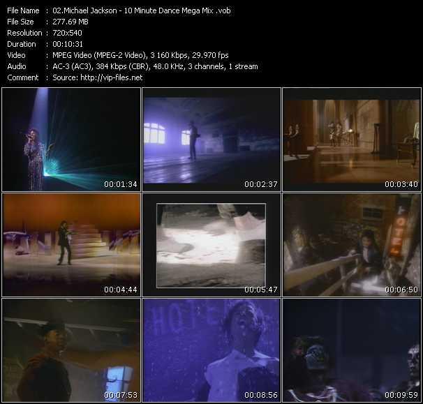 Michael Jackson - 10 Minute Dance Mega Mix