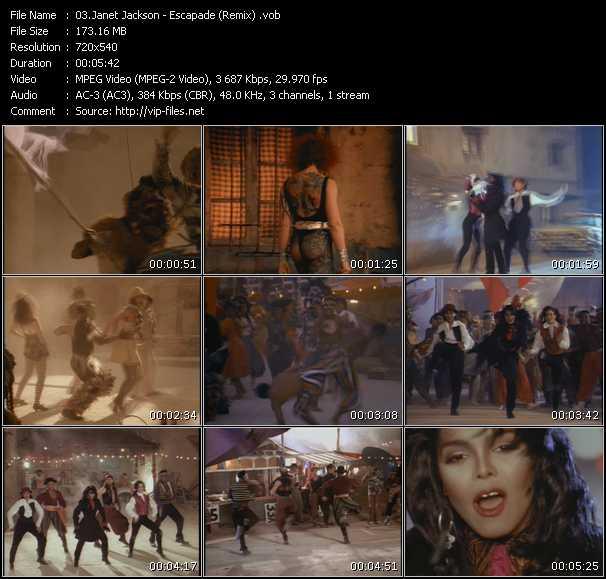 Janet Jackson - Escapade (Remix)