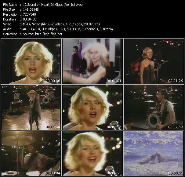 Blondie - Heart Of Glass (Remix)