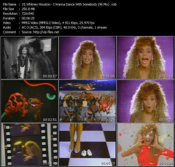 Whitney Houston - I Wanna Dance With Somebody (96 Mix)