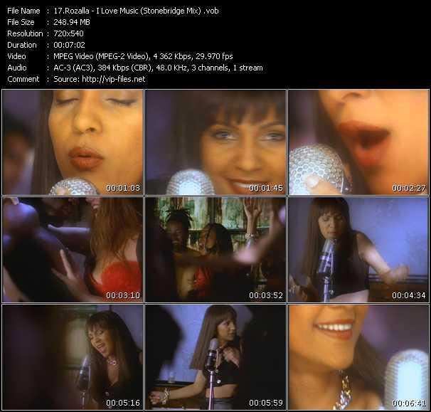 Rozalla - I Love Music (Stonebridge Mix)